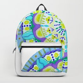 Flower after the Rain Mandala Backpack