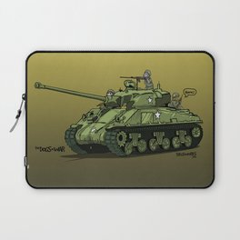 Dogs of War: Sherman Tank Laptop Sleeve