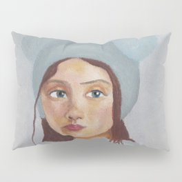 Girl in the Hat by Lu Pillow Sham