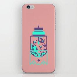 """poster : bottle 8 """"verre preambule"""" iPhone Skin"""