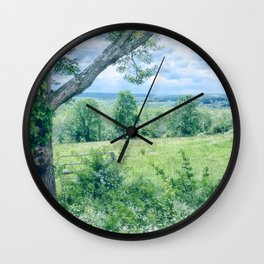 Never Ending Field Wall Clock
