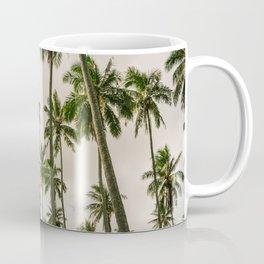 Palm Trees Kauai Hawaii Printable Wall Art | Tropical Beach Nature Ocean Coastal Travel Photography Print Coffee Mug