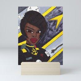 Star Fighter Pilot Mini Art Print