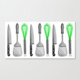 Kitchen Utensils Canvas Print