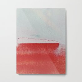 what remained Metal Print
