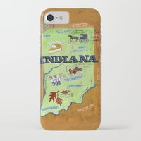 indiana iPhone & iPod Cases featuring INDIANA by Christiane Engel