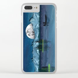 Wild Nature No. 4 Clear iPhone Case