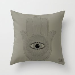 HAND PROTECTION Throw Pillow