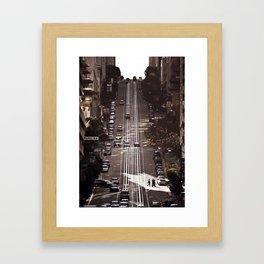 San Francisco Hills Framed Art Print