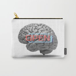 Open minded Carry-All Pouch