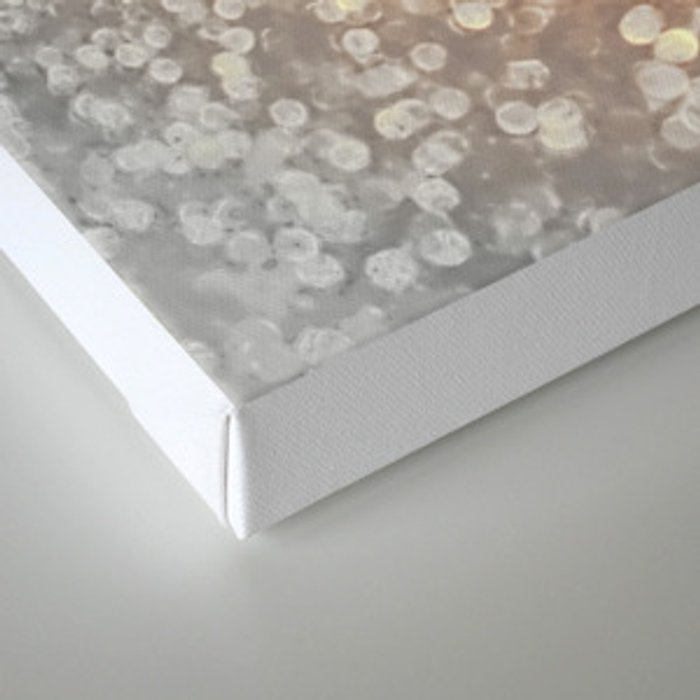 Tortilla brown Glitter effect - Sparkle and Glamour on #Society6 Canvas Print
