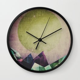 Top of the mountain Wall Clock