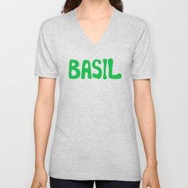 BASIL Unisex V-Neck