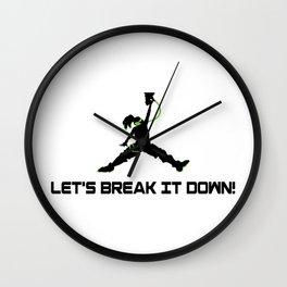 Lets break it down! Wall Clock