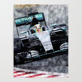 Lewis Hamilton 2015 Poster