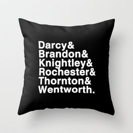 Because Top Hats are sexy Throw Pillow