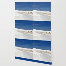White Sand Reaches Up To The Horizon Wallpaper