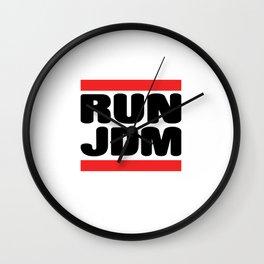 Run JDM Wall Clock