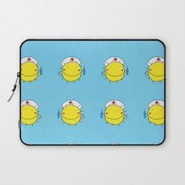 Vector illustration pattern of suns nurses Laptop Sleeve