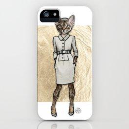 La Coquine, Couture Kitty iPhone Case