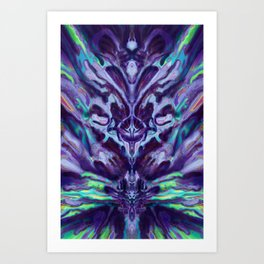 Abstract Anomaly [Disco] Art Print
