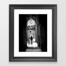 Lovers Lane Framed Art Print