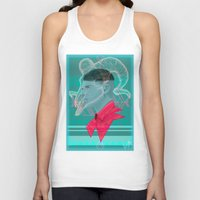 aries Tank Tops featuring Aries by Musya