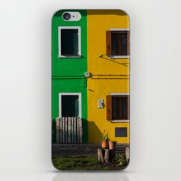 Colored Burano iPhone Skin
