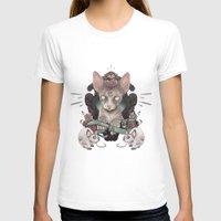 sphynx T-shirts featuring Sphynx by AlchemyArt