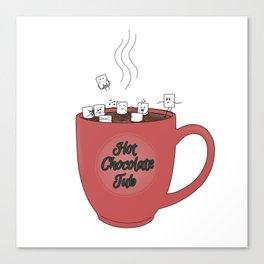 Hot Chocolate Tub Canvas Print
