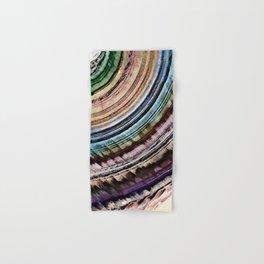 Abstract Textural Rings Hand & Bath Towel