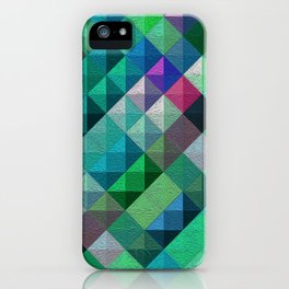 Mint Medley iPhone Case