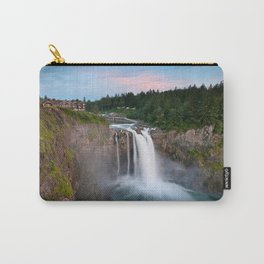 Snoqualmie Falls, Wa Carry-All Pouch