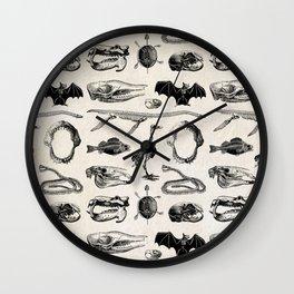 Animal Bones Wall Clock