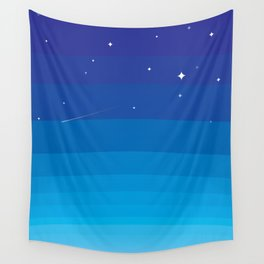 Wild BlueYonder Wall Tapestry