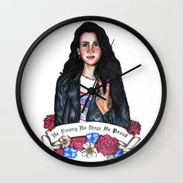 Del Rey, Lana Wall Clock