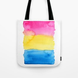 Pansexual Flag Tote Bag