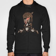 FACES OF GLAM ROCK Hoody