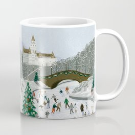 Ice skating pond Coffee Mug