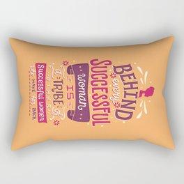 Successful women Rectangular Pillow