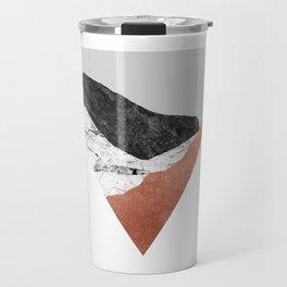 Copper Geometric II Travel Mug
