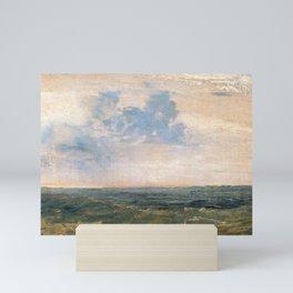 Study of Sea and Sky, Isle of Wight (1827) by J.M.W. Turner Mini Art Print