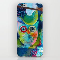 Goddess of the Birds iPhone & iPod Skin