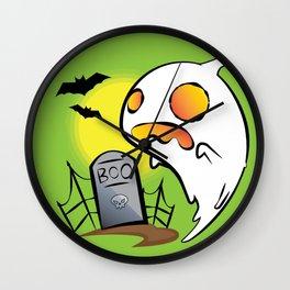 Ghosty Wall Clock