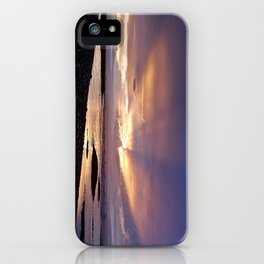 Beams of Light across the Sky iPhone Case