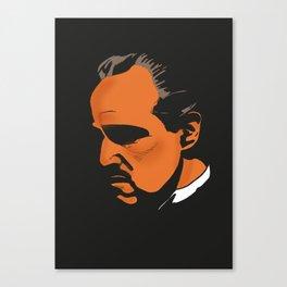 Vito Corleone - The Godfather Part I Canvas Print