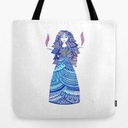 Tomira the Enchantress Tote Bag