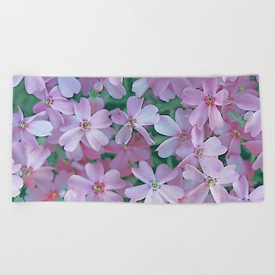 Flower Carpet(63) Beach Towel