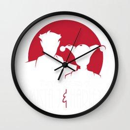 Mista J and Harley Wall Clock