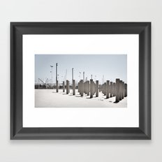 horizontal #4 Framed Art Print